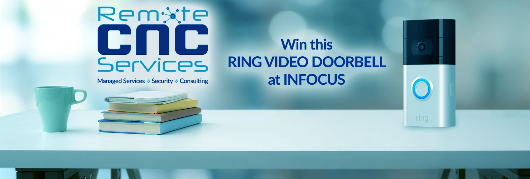 Win this Ring Doorbell from Remote CNC Services